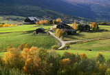 Gudbrandsdalen in Autumn,Norway