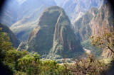 Taken from the bus on the way up to Machu Picchu