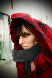 the red hooded girl