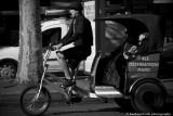 Rickshaw in Paris