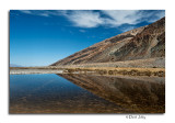 Badwater Salt Pool Reflection