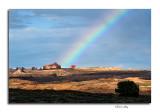 Rainbow, Entering Arches Nat'l Park