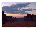Sunset, Arches Nat'l Park