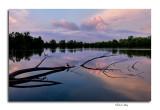 Sunset, Heron Pond- Three Creeks Metro Park