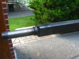 002 Axle welded to tubing