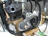 1584 Kubota alternator in place
