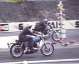 Norton Commando S did 13.996 on this run
