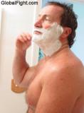 big pecs daddy shaving.jpg