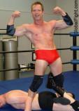 wrestling Erotic male backyard