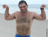 daddie bear flexing ocean beach lake.jpg