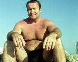 daddy bear grandpa beach gym shorts hairychest.jpg
