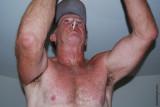 silver daddie baseball cap man smoking.jpg