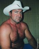 hot daddy bear cowboy shirtless no clothes gym shorts.jpg