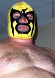wrestling mask hairychest man.jpeg