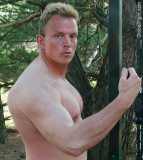Hot Older Jocks Powerlifting and Younger Strongmen Muscle Dudes Flexing Posing Gay Gym