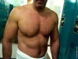 man locker room gym drying off shirtless.jpg