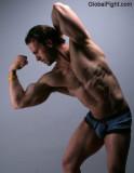 models muscle modeling flexing.jpeg