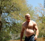 candid man walking jogging park.jpg