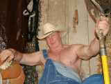 shirtless rodeo cowboy bear coveralls overalls.jpg
