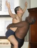 black guy beating white slave boy wrestler.jpg
