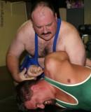 daddy bear arm twisting wrestling cubs.jpg