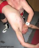 older graying haired grandaddy man wrestling choked.jpg