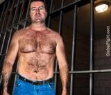 Swingers Tiedup Prisoner Man Hairychest Daddy Caged Husband Men