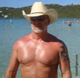 Austin Gay Texas Cowboy shirtless sweaty daddy bear seeking buds.jpg