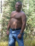 daddy sweaty on hiking trail camping dads jogging.jpg