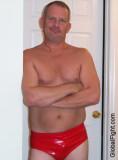 pro wrestler red trunks resting olderman.jpg