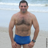 wet ocean latino man mexican hairychest dude.jpg