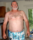a tall bearded daddy gym shorts hairychest pics.jpg