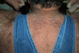 hairy back man wearing coveralls overalls photos.jpg