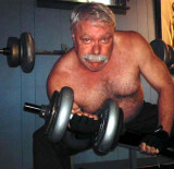 polar bear big thick moustache workingout man.jpg