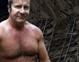 dads vietnam shirtless photos tent latrine pics.jpg