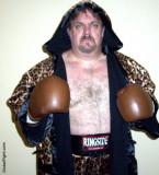 gaybear wearing leopard boxing robe hotel room pics.jpg