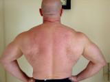 big hairy back muscledaddy flexing lats gym photos.jpg