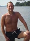 blond hairychest daddybear boating lake skiing swimming trunks.jpg