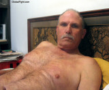 daddy laying in bed silver moustache hairy chest gray furr.jpg