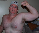 bad cubs flexing beefy burly hairy arms chest pecs hot guys.jpg