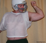 football players hairy armpits flexing big arms hairy belly stomach.jpg
