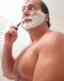 very hot hunky man shaving bathroom dads daddy.jpg