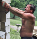 very sweaty men working demolition house remodeling roofers.jpg