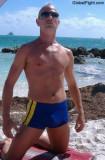 soaking wet jocky boy jockey wearing swimming trunks.jpg