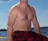 stocky heavyset man lake dripping wet pudgy fat gut.jpg