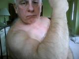 mean aggresive tuff silverdaddie hairy arms flexing.jpg