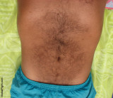my brothers hairy belly navel swimming trunks suntanning tanned.jpg