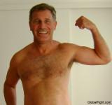 super hot daddy hairychest daddie flexing dads arms.jpg