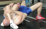 hardcore wrestlers training holds swapping practice session pics.jpg