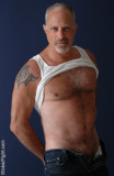 horny silverdaddie graying hairychest unzipped pants.jpg